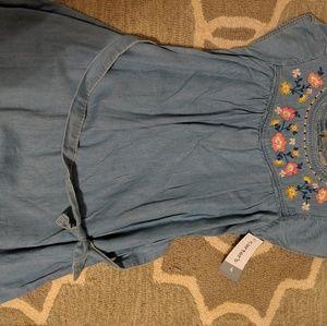 NWT Carter's 4t denim dress